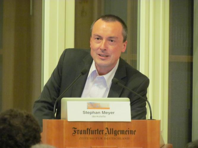 Stephan Meyer bei Frankfurter Allgemeine Zeitung